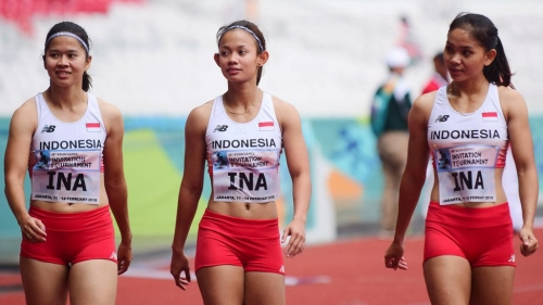 atlet lari indonesia asean games 208